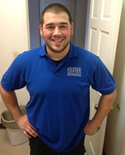 Photo Of A Employee In His Work Uniform In West New York, NJ - Prime Uniform Supply